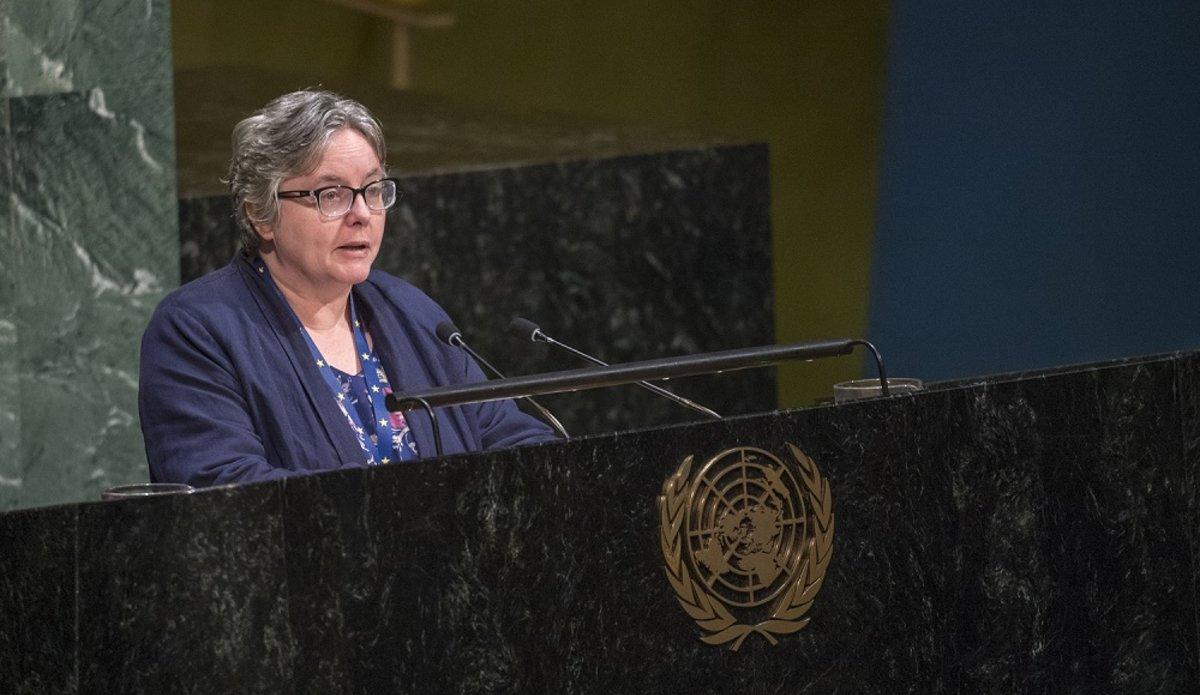 Mme Joanne Adamson, Représentante spéciale adjointe du Secrétaire général des Nations Unies au Mali. EUROPEAN UNION