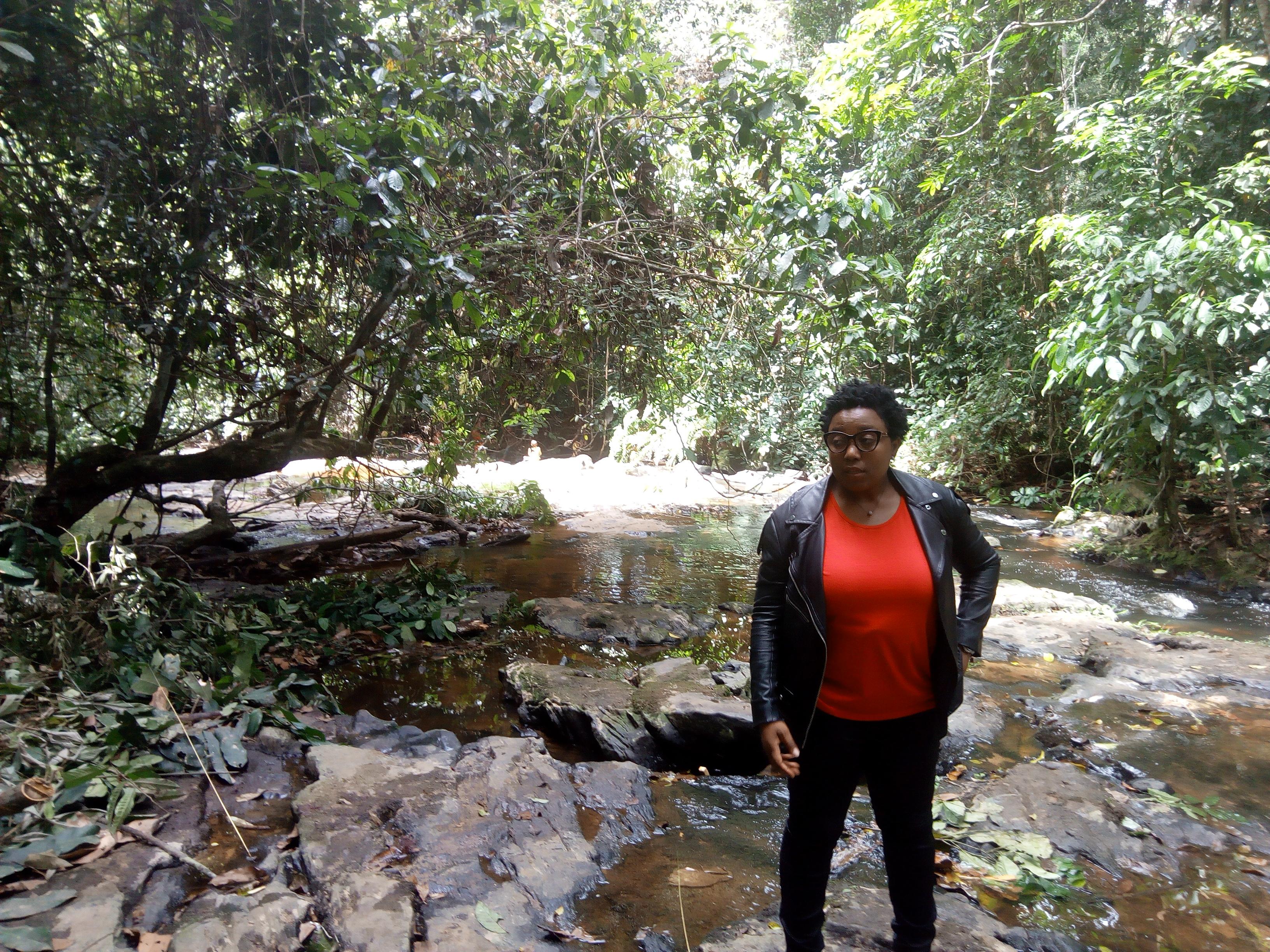 Sylvie Djacbou, responsable de la campagne Forêt de Greenpeace Afrique
