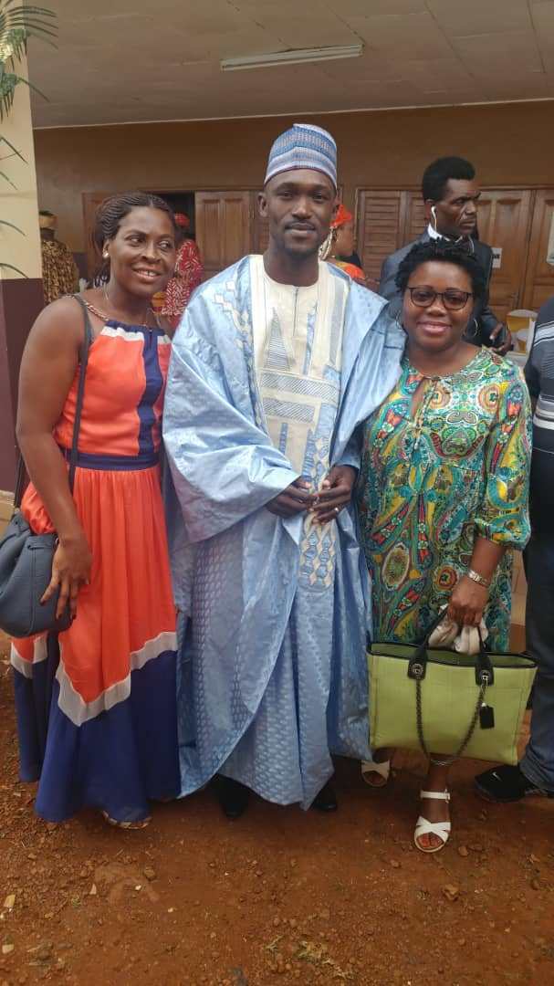 Christiane Ateba,Dr Ekani,Florence Nseke(Membres ASCOVIME)
