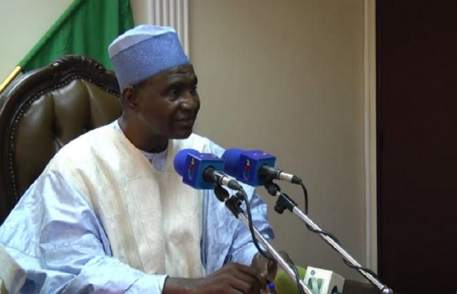 Le Ministre d'Etat,Maigari Bello Bouba,Président l'Union Nationale Démocratie et le Progres(Undp)