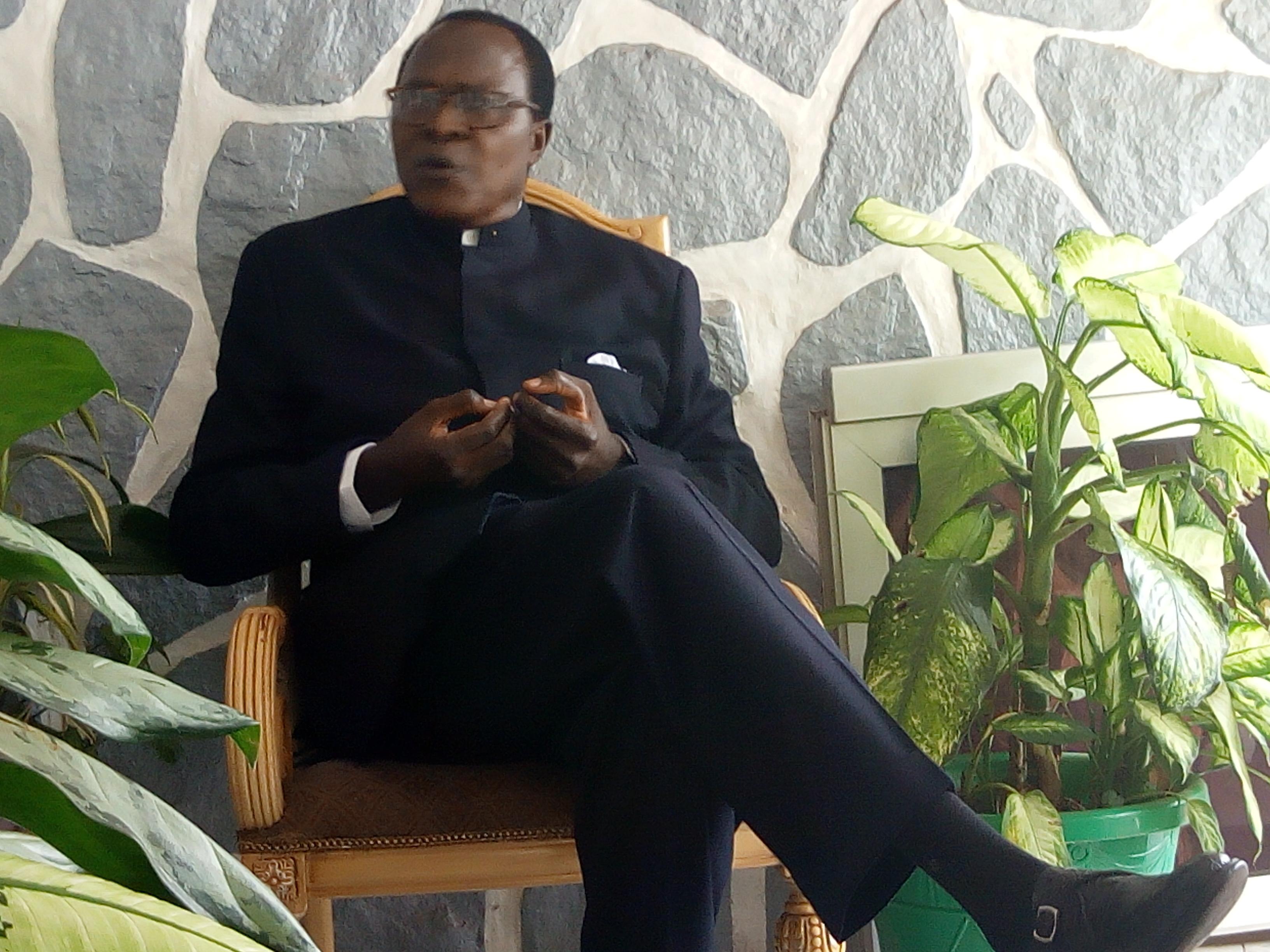 Professeur Jean Claude Shanda Tonme,Président du Mouvement Populaire pour le Dialogue et la Réconciliation(MPDR)