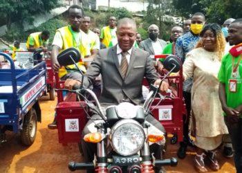 Augustin Balla,Maire de Yaoundé 5
