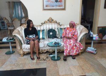 Dr Marlyse Peyou Ndi Samba a eu un entretien fructueux avec Nenadi Esther Usman , Senator of the Federal Republic of Nigeria (2011–2015) et Nigerian Minister of Finance (2006–2007)